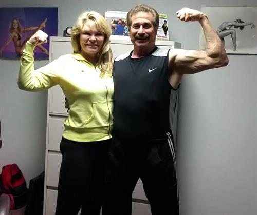Cathy Lee Crosby & Dr Fitness USA