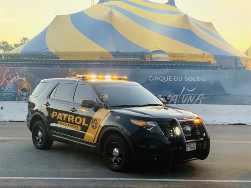 A Black Knight Patrol Vehicle