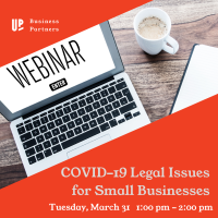 Webinar: COVID-19 Legal Issues for Small Businesses