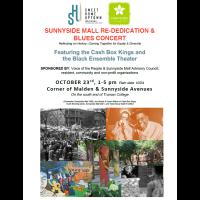 Sunnyside Mall Re-Dedication & Blues Concert