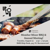August Member Mixer BBQ & Annual Meeting