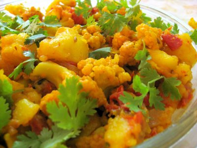 Aloo Goghi - Fresh Cauliflower and Potatoes