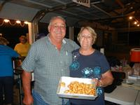 Jim & Barb with our famous cheese curds