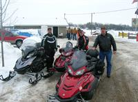 Schoepps Resort great snowmobiling