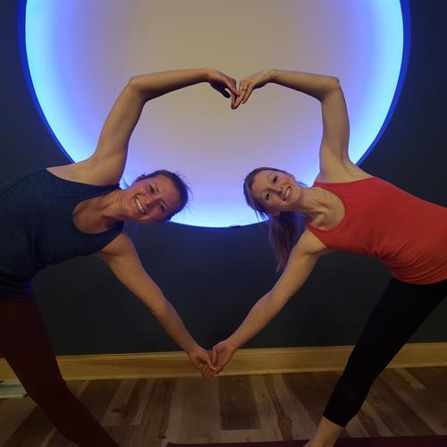 Partner Yoga Aimee Jensen