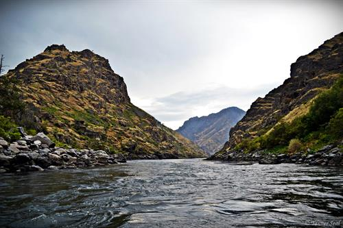 Deepest river gorge in North America - deeper than the Grand Canyon
