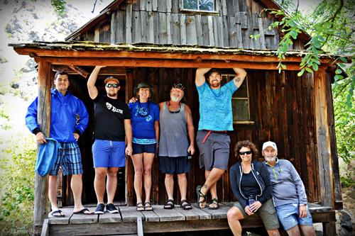 Sight seeing stops, fully narrated trip, historic cabins, pictographs