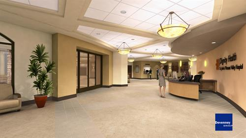 Lobby Expansion Rendering