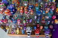 Day of the Dead decorative skulls
