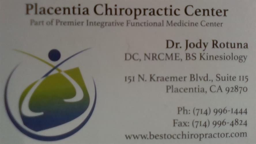 Placentia Chiropractic Center