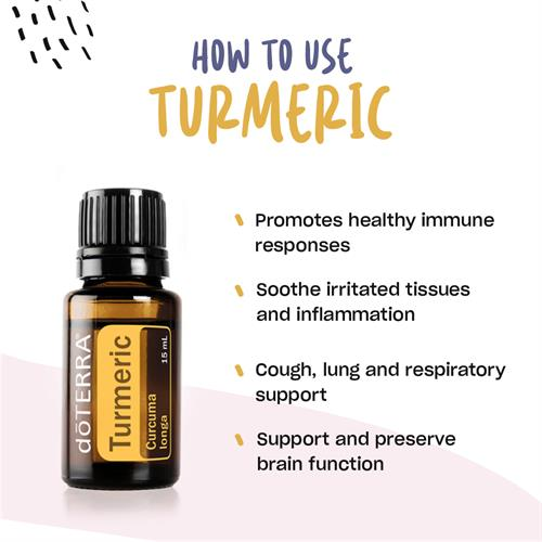 Turmeric - 2 to 3 Drops On Your Tongue Daily Will Go a Long Way to Health