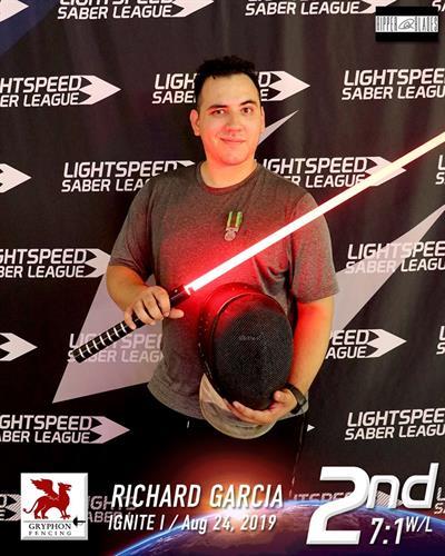 Light Saber Style Fencing