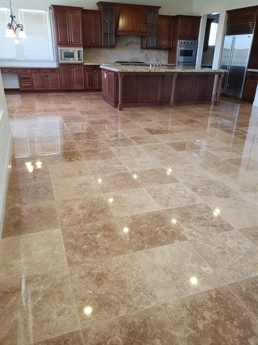Travertine Complete Restoration