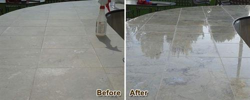 Marble Before & After