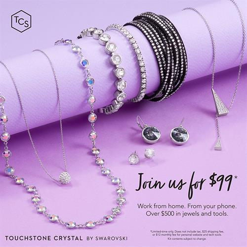 Be an Independent Consultant for $99!  Why Touchstone, Why Now Fun Virtual Parties Earn 25-40% on Sales Flexibility & Freedom $99 Business Kit