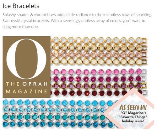 Oprah's Favorites!  ice Bracelets!