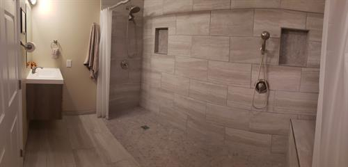 Modernized Bathrooms
