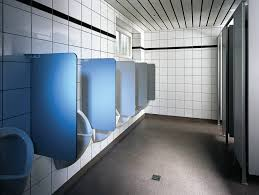 Commercial restroom deep cleaning