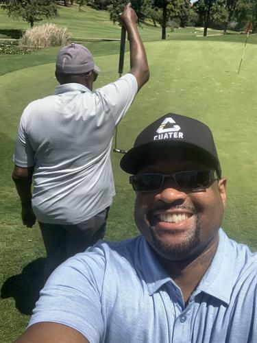 Golfing with Pops!