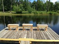 Fishing Dock on Private Fishing Pond