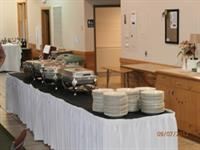 Arrowhead Main Hall - Buffet Table Setup