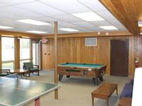 Sandhill Center Lodge - Lower Level Rec Room