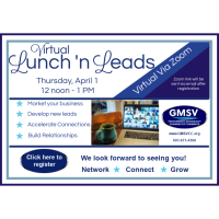 Lunch 'n Leads April 2021