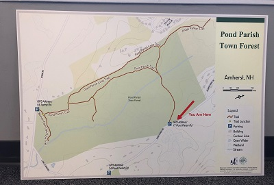 Amherst Trail Maps