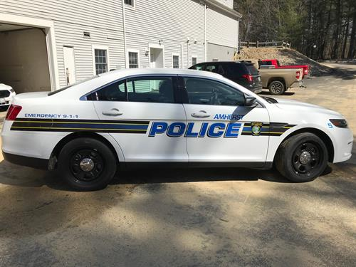 Amherst Police cruiser wrap