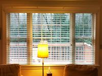 Faux Wood or Composite Blinds for Traditional Look