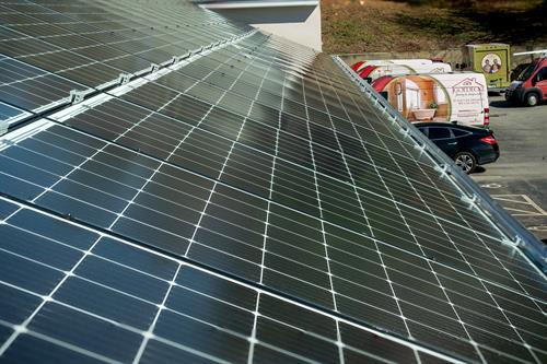 100% solar powered