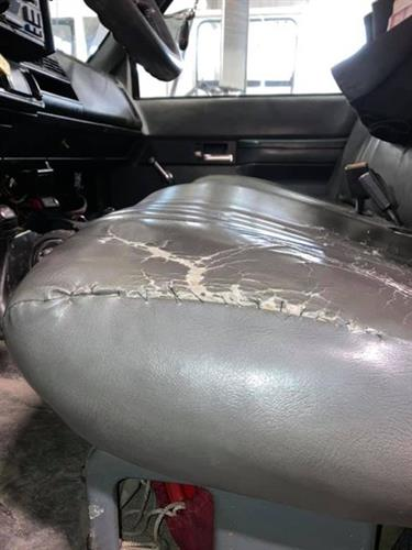 Utility Truck Seat-Before