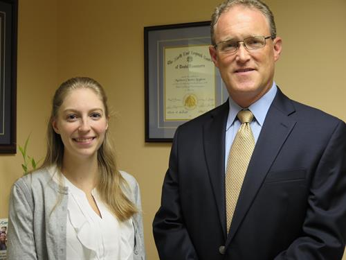 Dr.Pereira and Dr.Leighton