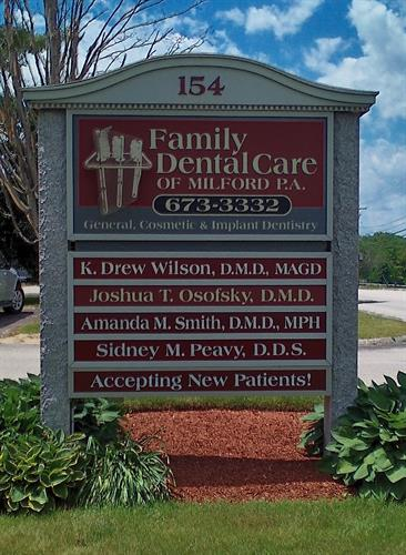 Family Dental Care of Milford NH