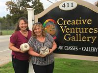 end of a class at Creative Ventures Gallery