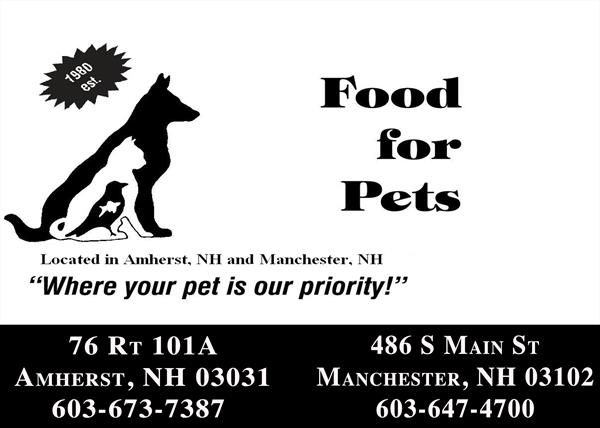 Food For Pets of Amherst, LLC/Food For Pets of Manchester, LLC