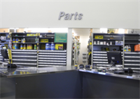 Parts Department Counters