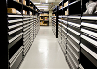 Parts Department Storage
