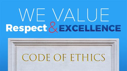 We Value Respect & Excellence