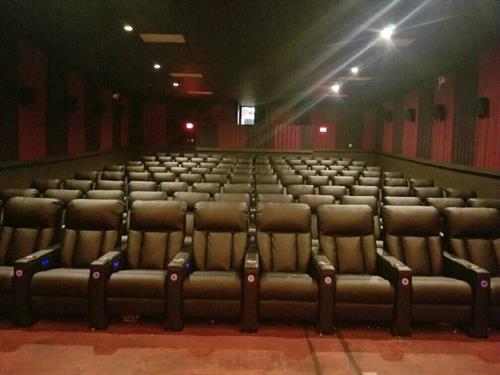 Renovated cinemas