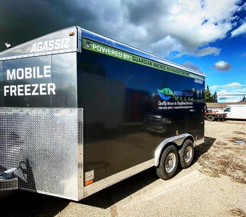 Mobile Freezer, yup we can do that!