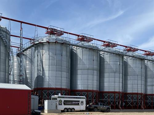 Grain Dryer as big as you want!