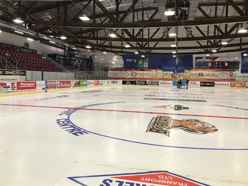 Facility Advertising - Ice Logos
