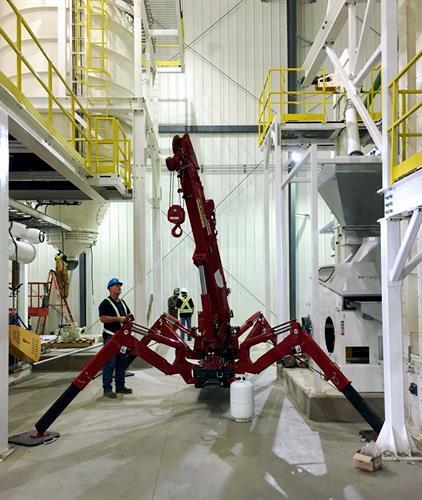 Spyder Crane in Action