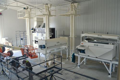 Construction of small cleaning facility near Regina