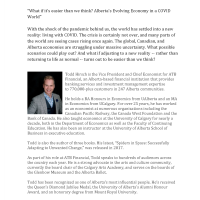 SBW - Speaker Series -  VP & Chief Economist for ATB Financial