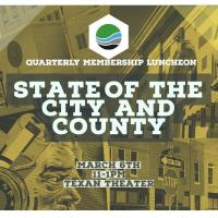 2020 State of the City and County - Quarterly Membership Luncheon