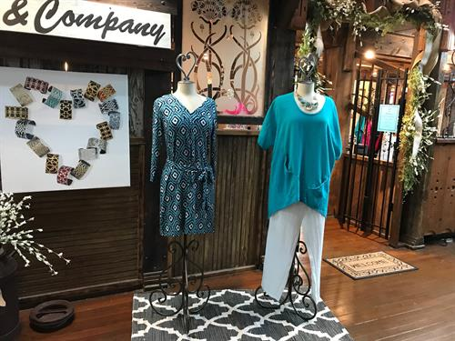 Dresses, separates, sportwear, jeans - CC & Company has so much to offer!