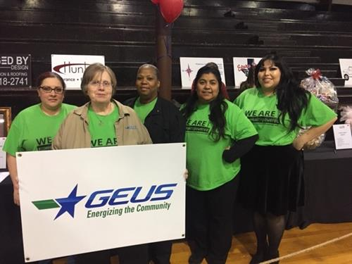 GEUS employees attend local fundraiser.