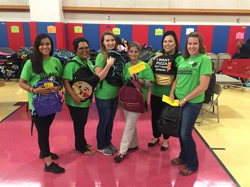 GEUS employees volunteer at Tools for School